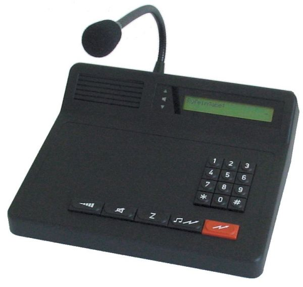Bedienstelle Funktronic Major 5b VOIP